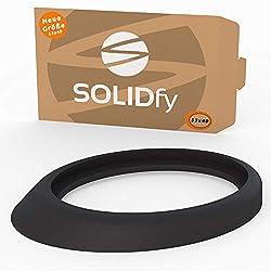 SOLIDfy Dichtung Dachantenne für Antennenfuß | Neue GRÖßE 53x40mm Reparatur Gummi Gasket