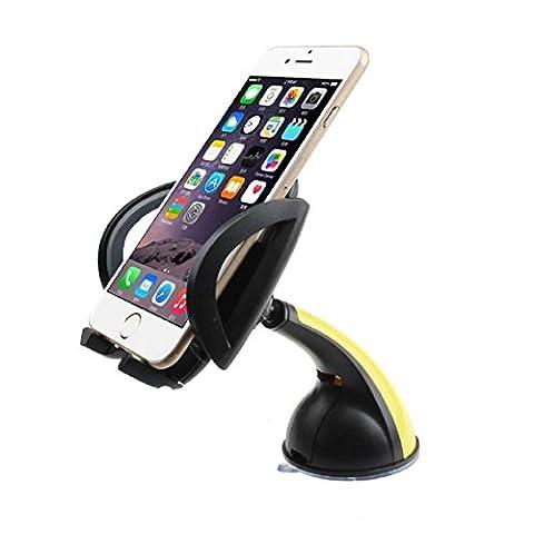 Pare-brise de voiture support de fixation, Transer® pare-brise de voiture universel support de fixation support pour iPhone Smartphone support de voiture téléphone support Supports