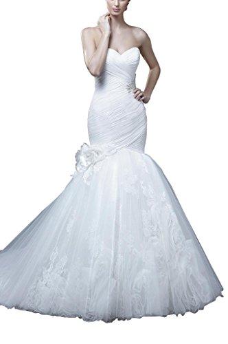 GEORGE BRIDE Spezielles Design mit viel hand grosse Blueten Brautkleider Hochzeitskleider, Groesse...