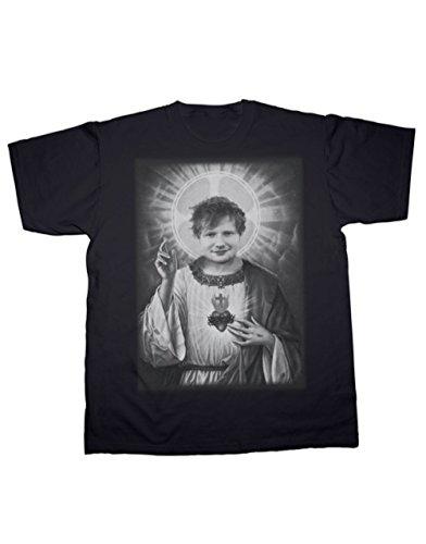 Sherbet Dip Ed Sheeran Saviour Print Ladies Fit T-Shirt. alle Größen erhältlich (S-XXXL) Schwarz - Schwarz