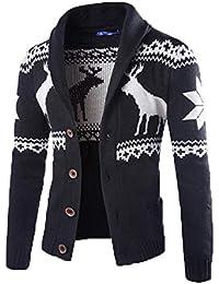 5843268e25b929 Keephen New Sweater Herren Deer Sweater National Strickjacke Strickjacke