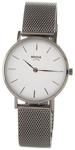 Boccia Reloj Analógico para Mujer de Cuarzo con Correa en Acero Inoxidable 3281-04