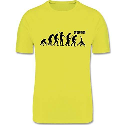 Evolution - Turnen Evolution - M - Neon Gelb - F350 - Herren Laufshirt