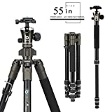 Best Aluminum Tripods - BONFOTO 671A Travel Aluminum Camera Tripod, Lightweight With Review