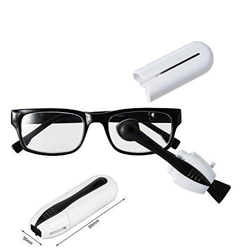 KSNOW-Gli Occhiali Pulizia Occhiali da Sole Spazzole per Pulire Eyeglasses Cleaner Protezioni per Gli Occhi Cura della Vista