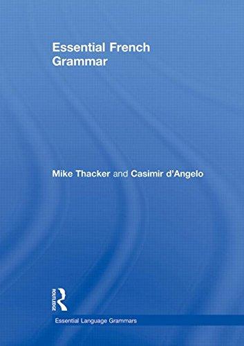 Essential French Grammar par Mike Thacker