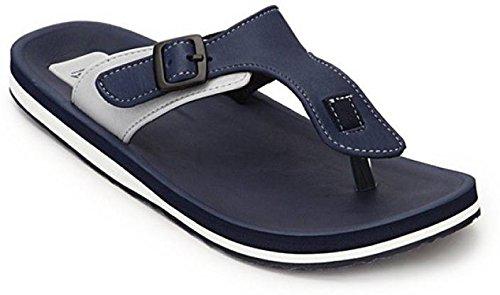 ADDA Comfortable Navy/Grey Color Flipflops for Men