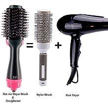Cepillo de aire caliente One Step 2-en-1 Secador de cabello y moldeador