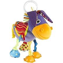"""Lamaze Baby Spielzeug """"Egon, der Esel"""" Clip & Go - hochwertiges Kleinkindspielzeug - Greifling Anhänger zur Stärtkung der Eltern-Kind-Bindung - ab 0 Monaten"""
