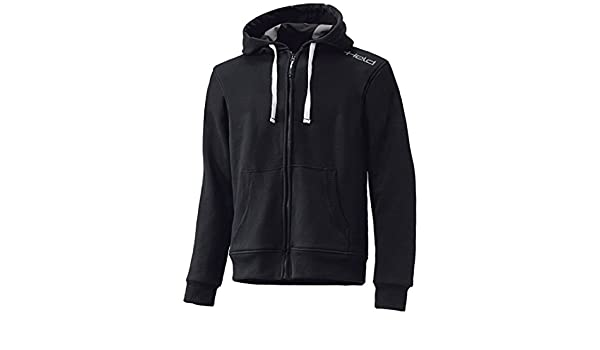 Farbe schwarz Held Tirano Kaputzenjacke mit Kevlar Gr/ö/ße M