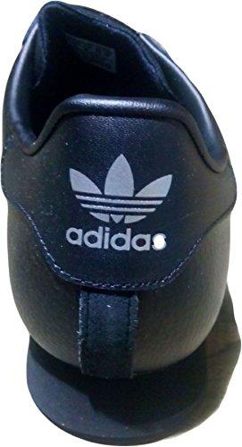 Orginal Samoa Chaussures Adidas Noir / Noir /Argent Métallisé
