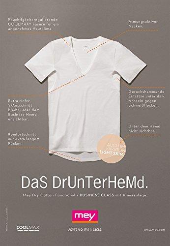 Mey Basics Dry Cotton Herren Shirts 1/2 Arm 46038 Light Skin