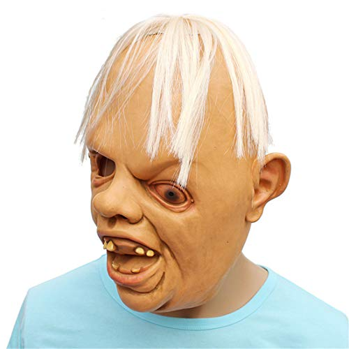 (JUKUB Party Liefert Horror Lustige Kopfbedeckung Maske Halloween Dekoration Kostüm Maske Cosplay Volle Kopfmaske Látex)