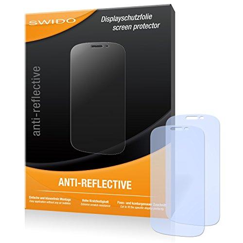 SWIDO Bildschirmschutz für Yota YotaPhone 2 [4 Stück] Anti-Reflex MATT Entspiegelnd, Hoher Härtegrad, Schutz vor Kratzer/Glasfolie, Schutzfolie, Bildschirmschutzfolie, Panzerglas Folie