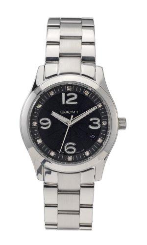 Gant GW10224 - Reloj analógico de cuarzo para mujer con correa de piel, color marrón