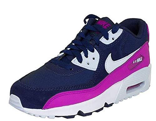 Nike 833340-402 Sportschuhe, Damen, Blau, 38 (Nike Air Max 90 Pink Und Schwarz)