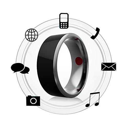 IUANUG Ringe Smart Tragbare Geräte NFC Magic Ringe Wasserdichter Komfort Flexibles Sicherheitsdesign Für Android Windows NFC Mobile Phone,10 Mobile Magic