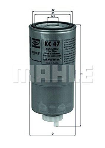 Preisvergleich Produktbild Kraftstofffilter - Mahle KC 47