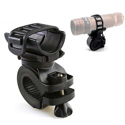 switty 360Grad Bike Taschenlampe Halter Radfahren Fahrrad Bike Mount Halterung für LED Taschenlampe Taschenlampe Clip Clamp Reiten Radfahren -