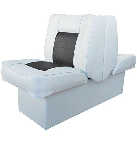 Back-to-Back-Sitz mit Kunststoffrahmen, weiß-anthrazit