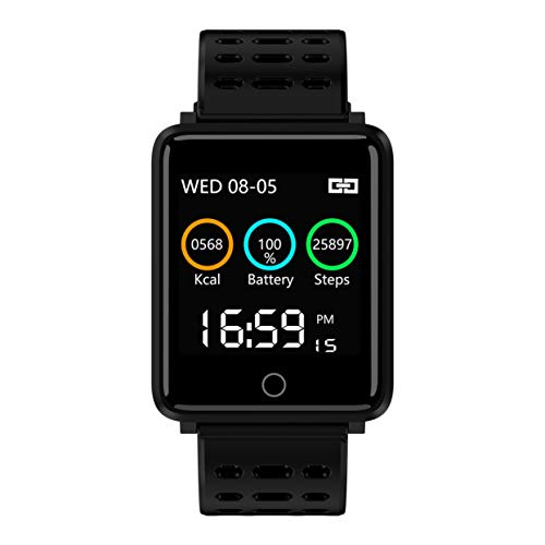 Tree-on-Life 1,44 Zoll Bildschirm Smart Watch ip68 wasserdichte Pulsmesser Smart Armband Fitness Aktivität Sport Tracker