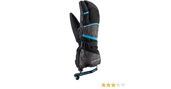 Imperm/éable Et Coupe-Vent Id/éal Pour Le Ski Et Le Snowboard Extra Chaud Soren Lobster Viking Gants DHiver /À Trois Doigts
