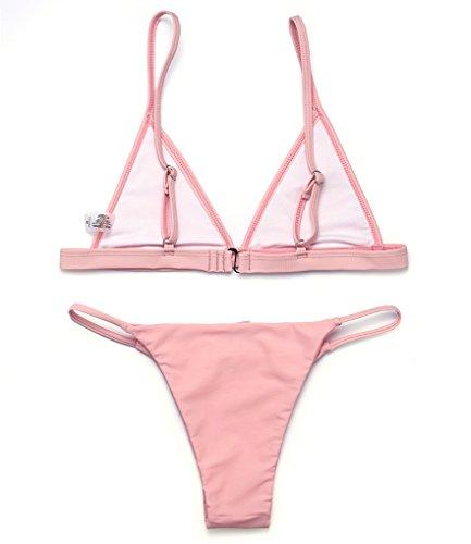 RELTANGL Damen Bikini-Set Rose
