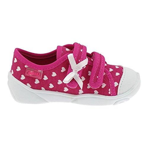 Gallux - Mädchen Freizeitschuhe Schuhe Hausschuhe Pink