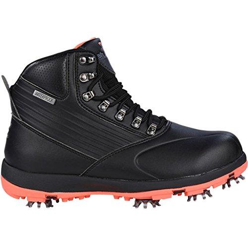 Stuburt 2017 Ladies Waterproof Endurance Golf Shoes Winter Boots Black/Coral 6UK