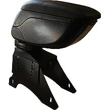 XtremeAuto® - Reposabrazos universal para consola central de piel suave, con parte superior ajustable, resistente y duradero