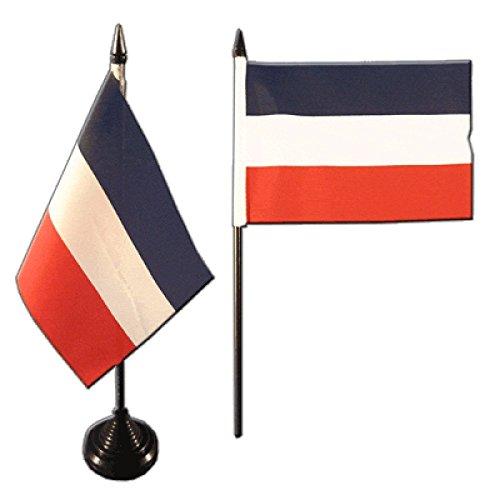 Tischflagge / Tischfahne Deutsches Reich Reichsflagge + gratis Aufkleber, Flaggenfritze