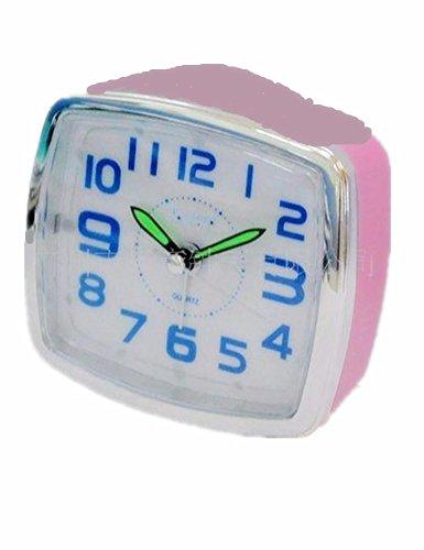 Wecker Kreative Atmosphäre Quadratische Timing Einseitig Kunststoff-Spiegel Digital Display Wecker Quarz Elektrische...