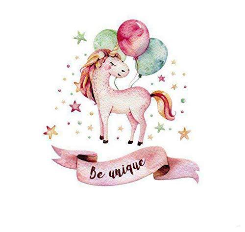 Pegatina transfer parche termoadhesivo unicornio unico para bodys, camisetas, chandal, sudaderas, babys, pijamitas, albornoces, canastillas. de CHIPYHOME
