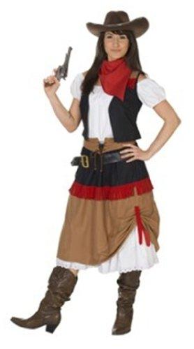 Rubies 1 3391 48 - Cowboy Women 3-teilig Größe 48