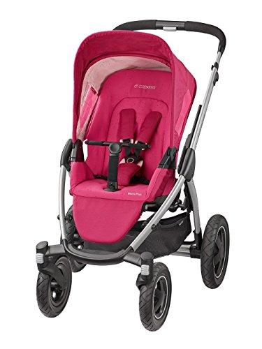 Maxi-Cosi Kombi-Kinderwagen Mura 4 Plus (inkl. Zubehör) berry pink