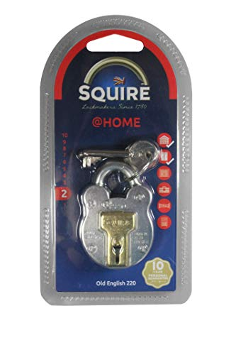 HENRY SQUIRE 220 Old English Padlock With Steel Case 38mm - 2