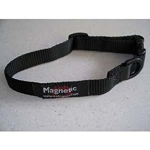Outhwaite Magnetic Dog Collar Black 550mm - 700mm 100g