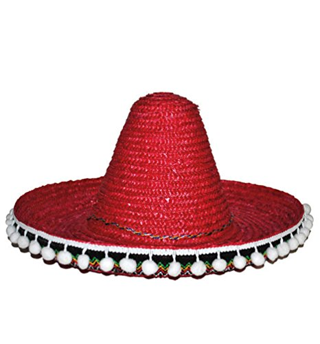 Karneval Klamotten Kostüm Sombrero Mexico für Kinder Zubehör Hut Karneval
