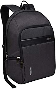 EUME Ozzon Stylish Durable 27 LTR Water Resistant Laptop Backpack for Men and Women (Black)
