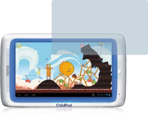 2x Archos Arnova ChildPad Displayschutzfolie Bildschirmschutzfolie kristallklar
