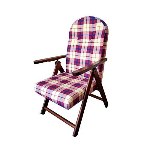 Totò piccinni poltrona sedia sdraio campania amalfi in legno reclinabile 4 posizioni (bordeaux)