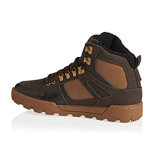 DC Spartan High WR Boots Brown/Brown/Red Brown/Brown/Red