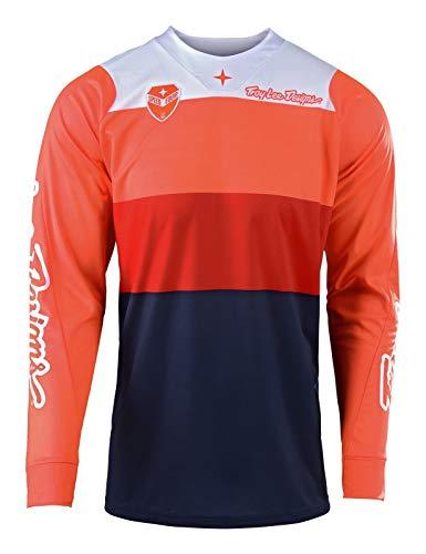 Troy Lee Designs SE Beta Motocross Jersey Orange/Dunkelblau XL Troy Lee Designs Se Jersey