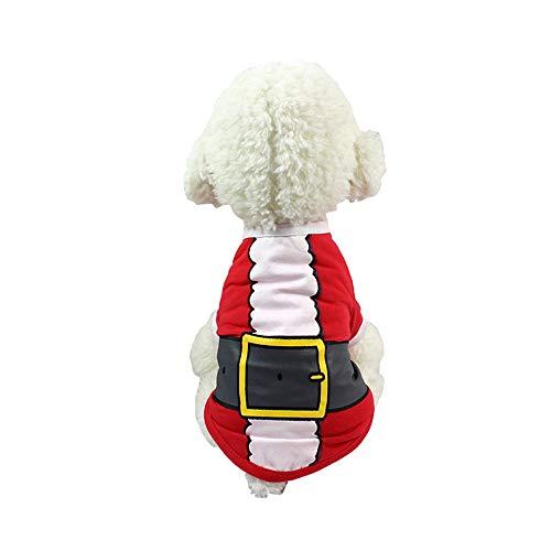 Kostüm Kitty Weihnachten - Ogquaton Pet Weihnachten Kostüme Lustige Pet Cosplay Kleidung Kitty Puppy Sweet Gift