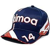 Kimoa Alpine Racing F1 2021 Team Fernando Alonso Dark Blue Hat