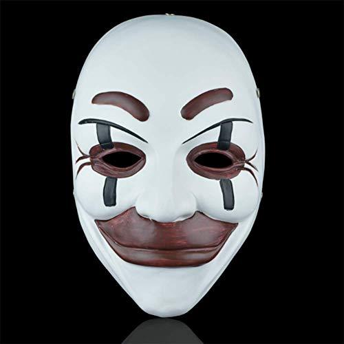 Clown Jeder Kostüm - QIAO Clown Maske verbreitet Cosplay Requisitendekoration