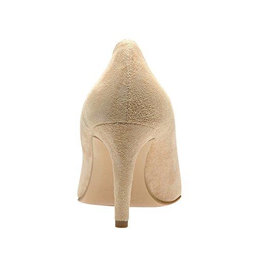 ARIA escarpins femme daim nu