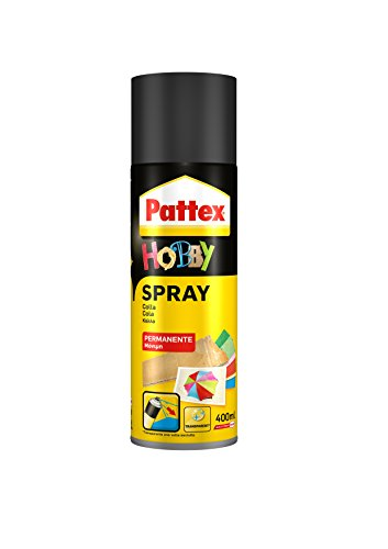 Pattex, 1478979, hobby colla spray permanente, 400 ml
