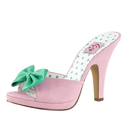 Heels-Perfect , Hi-Top Slippers femme Rosa (Rosa)