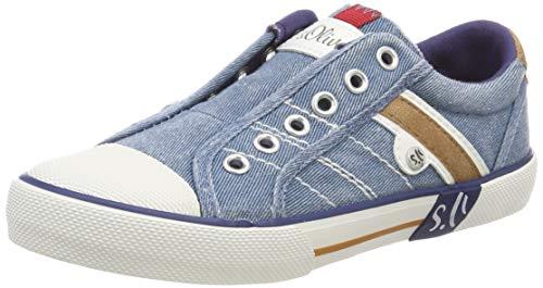 s.Oliver Unisex-Kinder 5-5-43205-22 802 Sneaker Blau (Denim 802), 31 EU